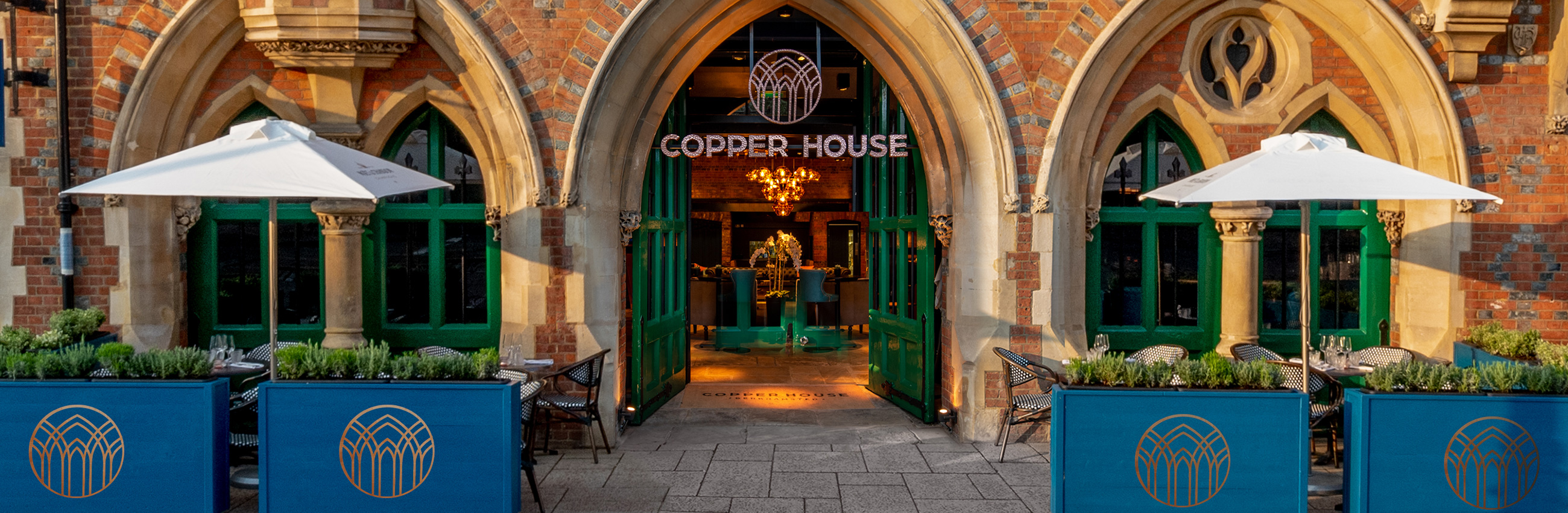 Copper House Bar – Outside, early evening