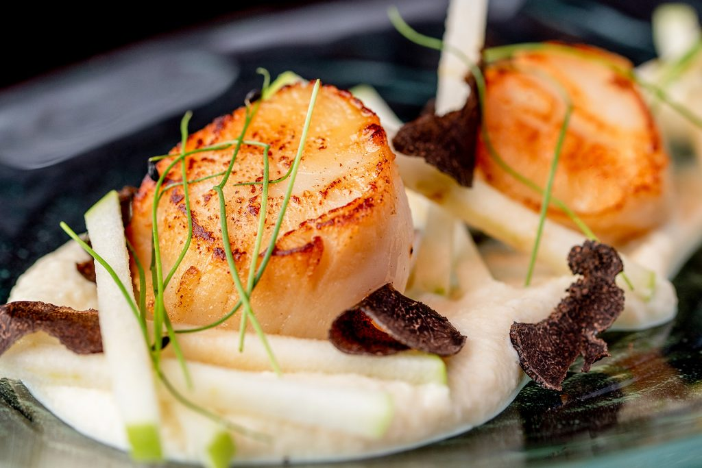 Copper House Bar – Food – Seared scallops